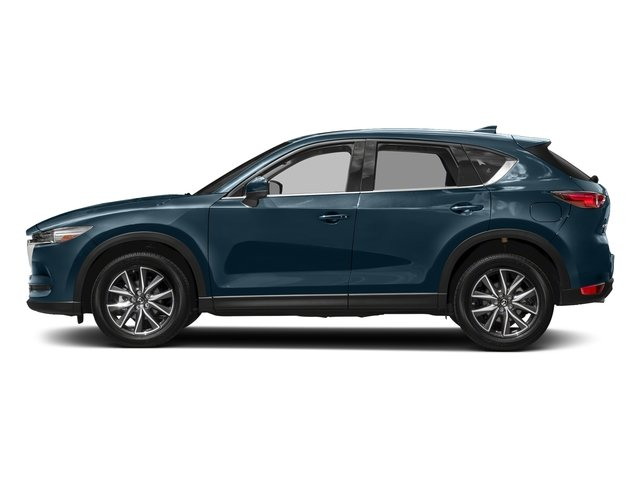 Deep Crystal Blue Mica 2017 Mazda CX-5 Pictures CX-5 Utility 4D GT 2WD I4 photos side view
