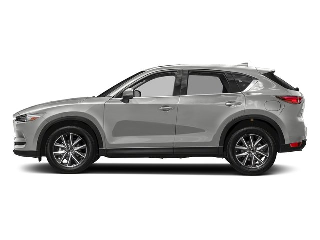 Sonic Silver Metallic 2017 Mazda CX-5 Pictures CX-5 Utility 4D GT 2WD I4 photos side view