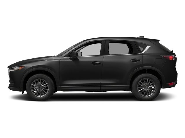 Jet Black Mica 2017 Mazda CX-5 Pictures CX-5 Utility 4D Touring AWD I4 photos side view