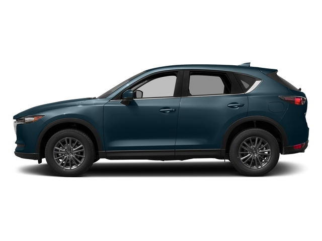 Deep Crystal Blue Mica 2017 Mazda CX-5 Pictures CX-5 Utility 4D Touring AWD I4 photos side view