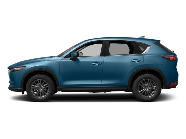 Eternal Blue Mica 2017 Mazda CX-5 Pictures CX-5 Utility 4D Touring AWD I4 photos side view