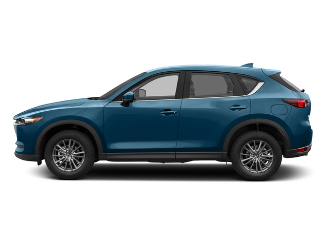 Eternal Blue Mica 2017 Mazda CX-5 Pictures CX-5 Utility 4D Sport AWD I4 photos side view