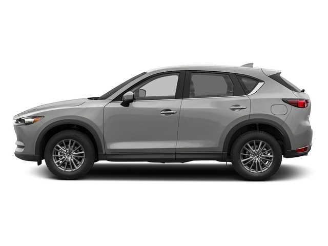 Sonic Silver Metallic 2017 Mazda CX-5 Pictures CX-5 Utility 4D Sport AWD I4 photos side view