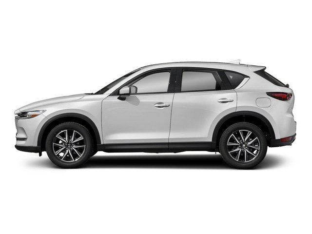 Snowflake White Pearl Mica 2017 Mazda CX-5 Pictures CX-5 Grand Select FWD photos side view