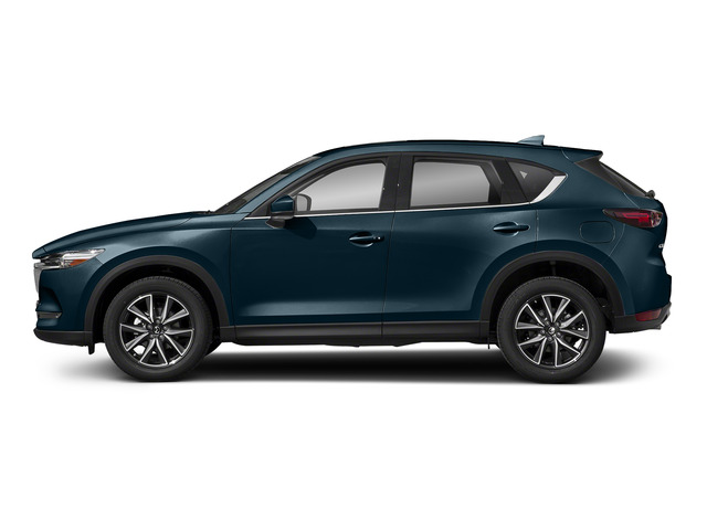 Deep Crystal Blue Mica 2017 Mazda CX-5 Pictures CX-5 Grand Select FWD photos side view