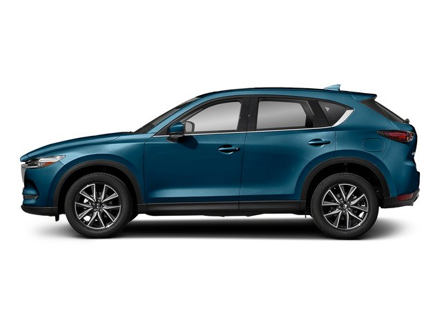 Eternal Blue Mica 2017 Mazda CX-5 Pictures CX-5 Grand Select FWD photos side view