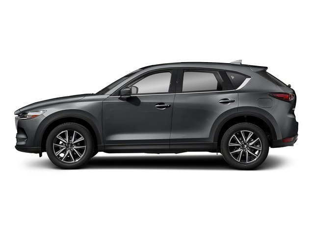 Machine Gray Metallic 2017 Mazda CX-5 Pictures CX-5 Utility 4D Grand Select 2WD photos side view