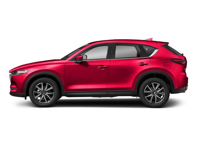 Soul Red Crystal Metallic 2017 Mazda CX-5 Pictures CX-5 Grand Select FWD photos side view