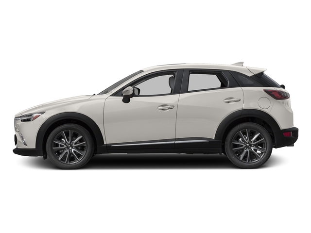 Crystal White Pearl Mica 2017 Mazda CX-3 Pictures CX-3 Utility 4D GT AWD I4 photos side view