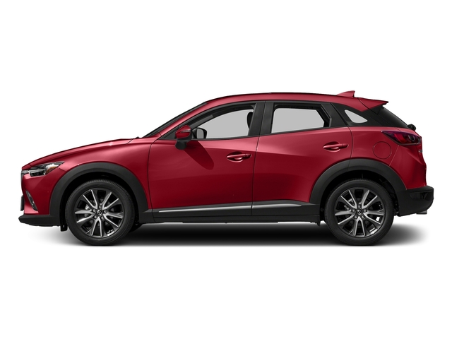 Soul Red Metallic 2017 Mazda CX-3 Pictures CX-3 Utility 4D GT 2WD I4 photos side view