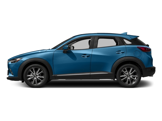 Dynamic Blue Mica 2017 Mazda CX-3 Pictures CX-3 Utility 4D GT 2WD I4 photos side view