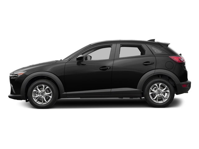 Jet Black Mica 2017 Mazda CX-3 Pictures CX-3 Utility 4D Sport AWD I4 photos side view