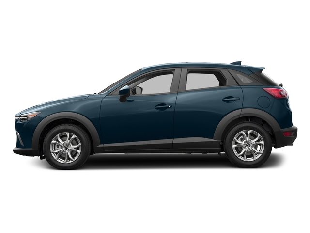 Deep Crystal Blue Mica 2017 Mazda CX-3 Pictures CX-3 Utility 4D Sport AWD I4 photos side view