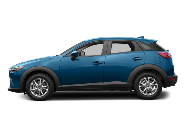 Dynamic Blue Mica 2017 Mazda CX-3 Pictures CX-3 Utility 4D Sport AWD I4 photos side view
