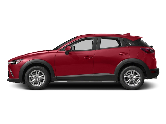 Soul Red Metallic 2017 Mazda CX-3 Pictures CX-3 Utility 4D Sport 2WD I4 photos side view