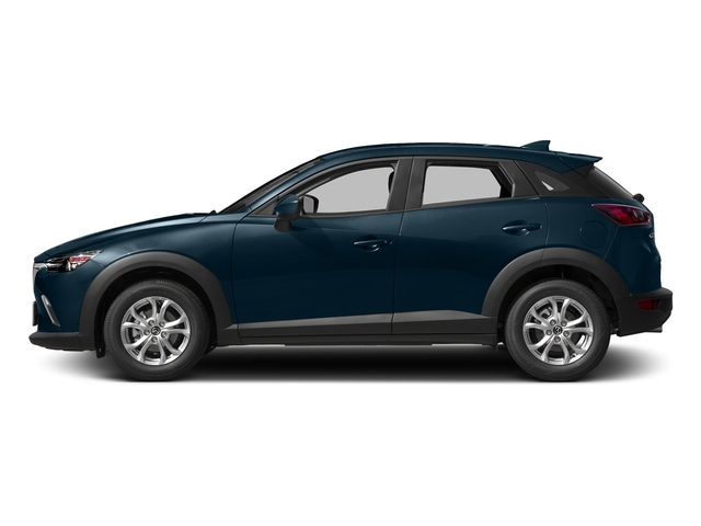 Deep Crystal Blue Mica 2017 Mazda CX-3 Pictures CX-3 Utility 4D Sport 2WD I4 photos side view