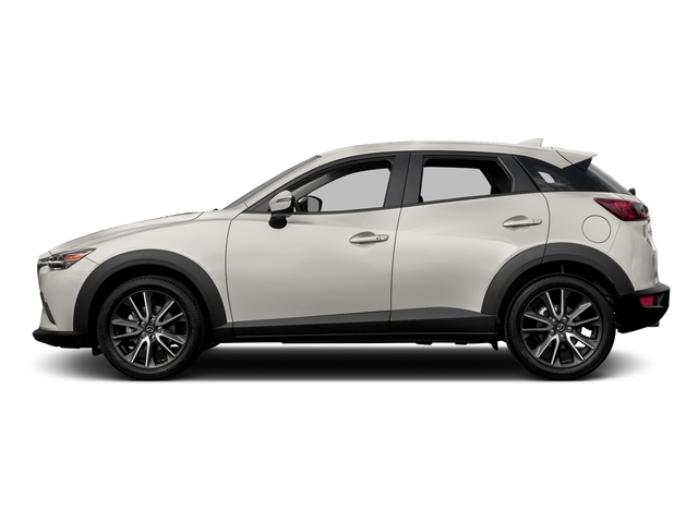 Crystal White Pearl Mica 2017 Mazda CX-3 Pictures CX-3 Touring AWD photos side view