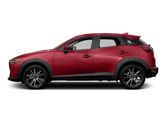 Soul Red Metallic 2017 Mazda CX-3 Pictures CX-3 Touring AWD photos side view
