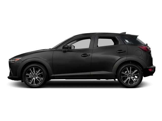 Jet Black Mica 2017 Mazda CX-3 Pictures CX-3 Touring AWD photos side view
