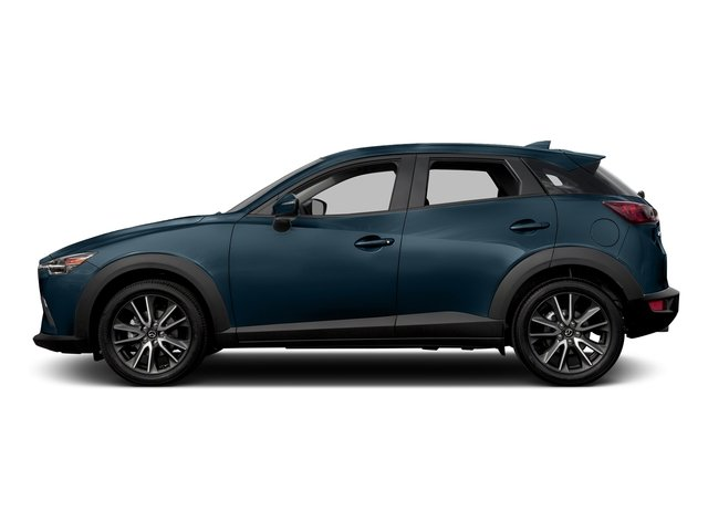 Deep Crystal Blue Mica 2017 Mazda CX-3 Pictures CX-3 Touring AWD photos side view