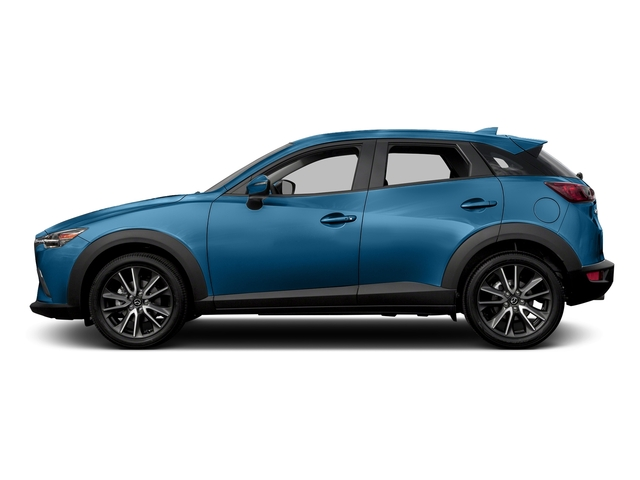 Dynamic Blue Mica 2017 Mazda CX-3 Pictures CX-3 Touring AWD photos side view