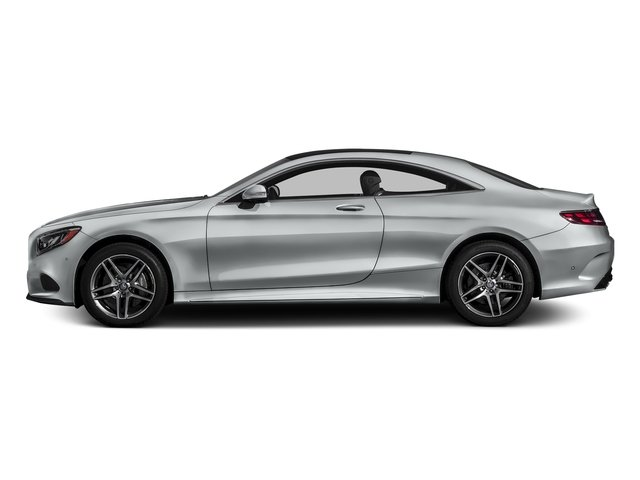 Iridium Silver Metallic 2017 Mercedes-Benz S-Class Pictures S-Class S 550 4MATIC Coupe photos side view