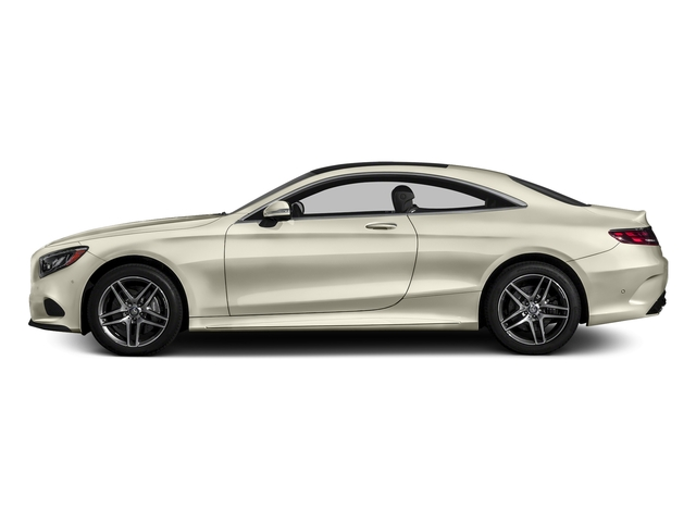 designo Diamond White Metallic 2017 Mercedes-Benz S-Class Pictures S-Class S 550 4MATIC Coupe photos side view