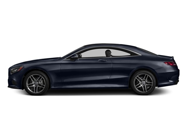 Lunar Blue Metallic 2017 Mercedes-Benz S-Class Pictures S-Class S 550 4MATIC Coupe photos side view