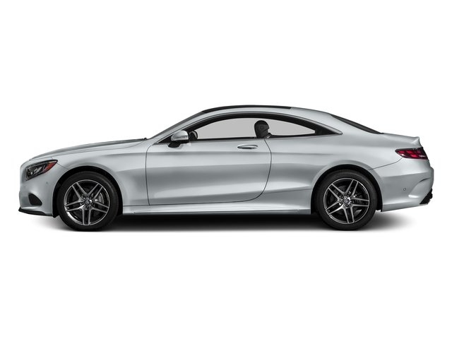 Diamond Silver Metallic 2017 Mercedes-Benz S-Class Pictures S-Class Coupe 2D S550 AWD V8 Turbo photos side view