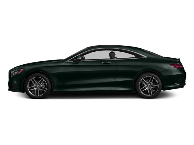 Emerald Green Metallic 2017 Mercedes-Benz S-Class Pictures S-Class S 550 4MATIC Coupe photos side view