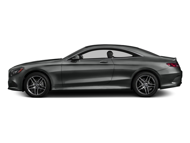 Selenite Grey Metallic 2017 Mercedes-Benz S-Class Pictures S-Class S 550 4MATIC Coupe photos side view