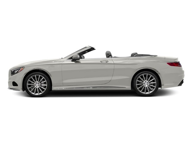 designo Magno Cashmere White (Matte Finish) 2017 Mercedes-Benz S-Class Pictures S-Class Convertible 2D S550 V8 Turbo photos side view