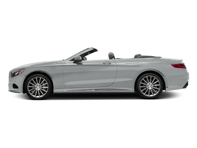Iridium Silver Metallic 2017 Mercedes-Benz S-Class Pictures S-Class Convertible 2D S550 V8 Turbo photos side view