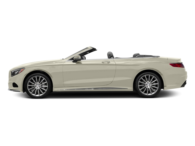 designo Diamond White Metallic 2017 Mercedes-Benz S-Class Pictures S-Class Convertible 2D S550 V8 Turbo photos side view