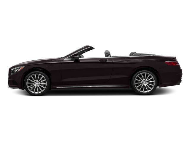 Ruby Black Metallic 2017 Mercedes-Benz S-Class Pictures S-Class Convertible 2D S550 V8 Turbo photos side view