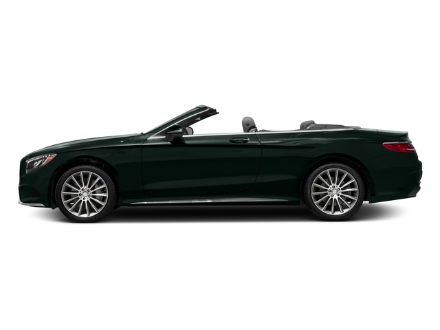 Emerald Green Metallic 2017 Mercedes-Benz S-Class Pictures S-Class Convertible 2D S550 V8 Turbo photos side view