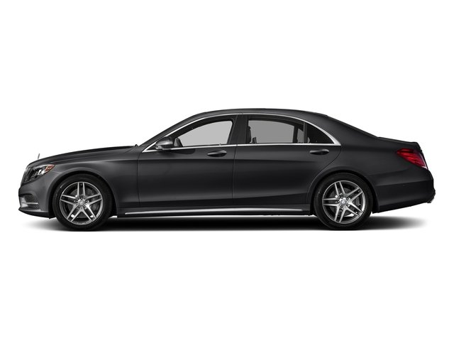 Black 2017 Mercedes-Benz S-Class Pictures S-Class Sedan 4D S550 AWD V8 Turbo photos side view