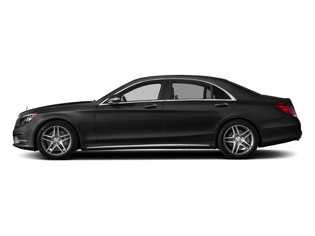 Obsidian Black Metallic 2017 Mercedes-Benz S-Class Pictures S-Class S 550 Sedan photos side view