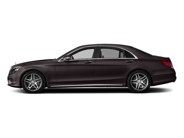 Ruby Black Metallic 2017 Mercedes-Benz S-Class Pictures S-Class S 550 Sedan photos side view