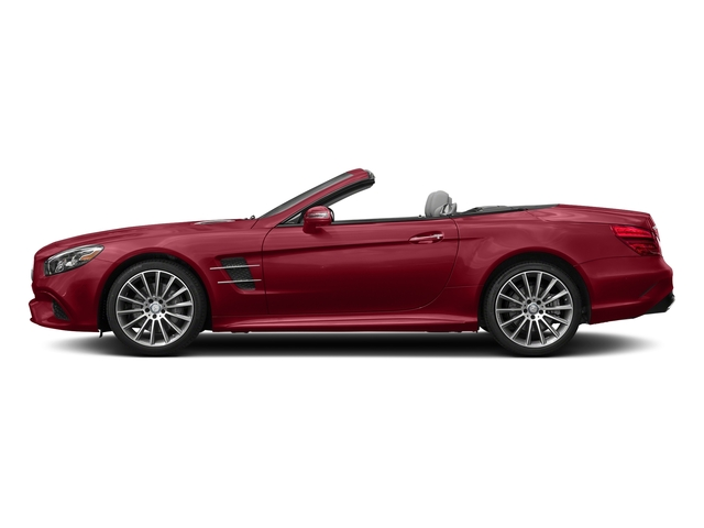 Mars Red 2017 Mercedes-Benz SL Pictures SL SL 550 Roadster photos side view