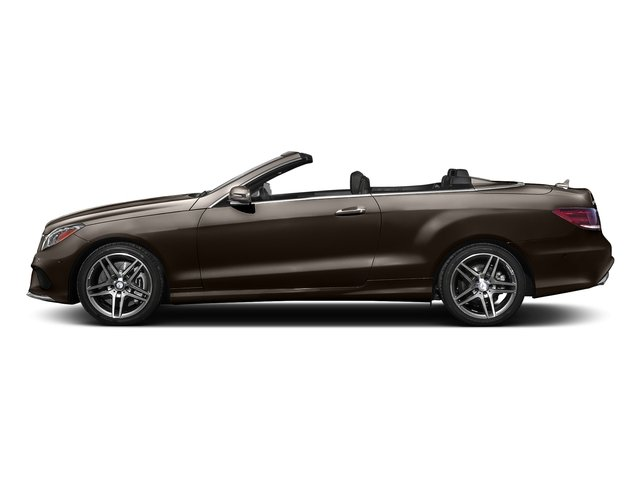 Dolomite Brown Metallic 2017 Mercedes-Benz E-Class Pictures E-Class E 550 RWD Cabriolet photos side view