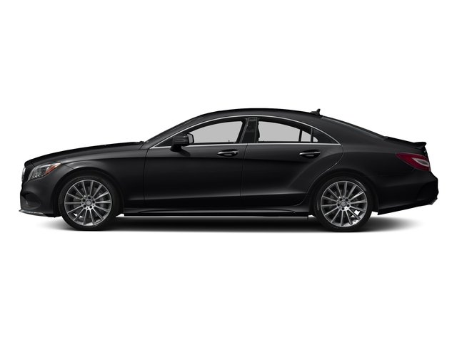 Black 2017 Mercedes-Benz CLS Pictures CLS CLS 550 4MATIC Coupe photos side view