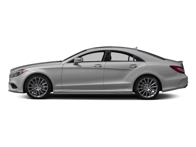 designo Magno Alanite Grey (Matte Finish) 2017 Mercedes-Benz CLS Pictures CLS CLS 550 4MATIC Coupe photos side view