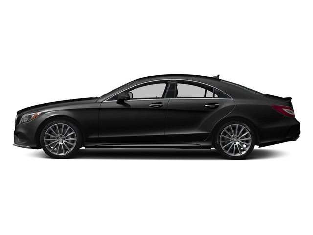Magnetite Black Metallic 2017 Mercedes-Benz CLS Pictures CLS CLS 550 4MATIC Coupe photos side view