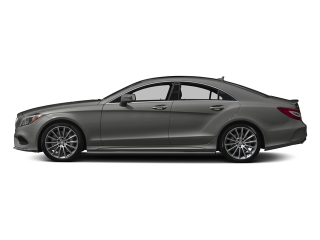 designo Magno Selenite Grey (Matte Finish) 2017 Mercedes-Benz CLS Pictures CLS CLS 550 4MATIC Coupe photos side view
