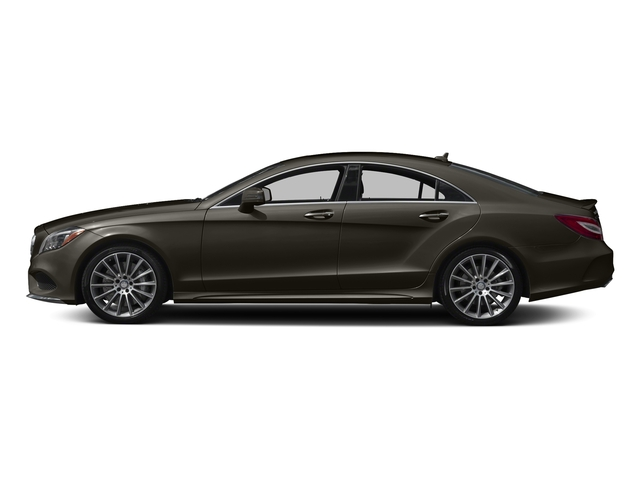 Dakota Brown Metallic 2017 Mercedes-Benz CLS Pictures CLS CLS 550 4MATIC Coupe photos side view