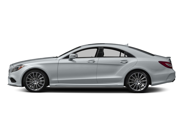 Diamond Silver Metallic 2017 Mercedes-Benz CLS Pictures CLS CLS 550 4MATIC Coupe photos side view