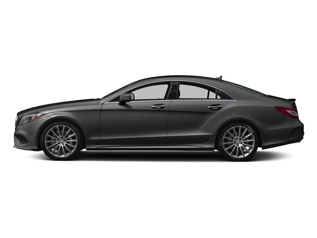Selenite Grey Metallic 2017 Mercedes-Benz CLS Pictures CLS Sedan 4D CLS550 V8 Turbo photos side view
