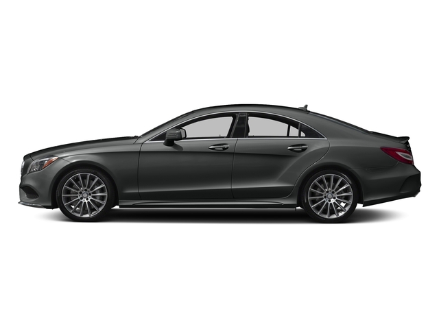 Selenite Grey Metallic 2017 Mercedes-Benz CLS Pictures CLS CLS 550 4MATIC Coupe photos side view