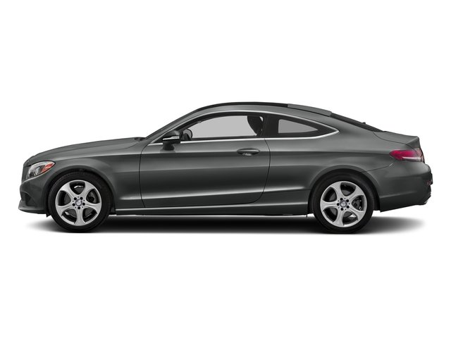 Selenite Grey Metallic 2017 Mercedes-Benz C-Class Pictures C-Class Coupe 2D C300 AWD photos side view